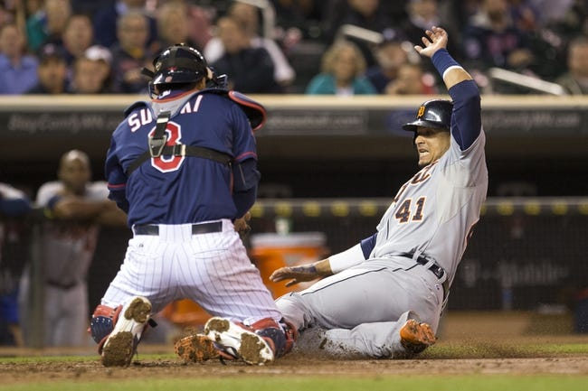 Minnesota Twins vs. Detroit Tigers 9/16/14 MLB Pick and Odds