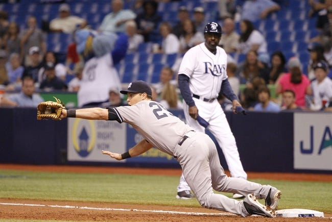 Tampa Bay Rays vs. New York Yankees 9/16/14 MLB Pick and Odds