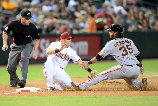 Arizona Diamondbacks vs. San Francisco Giants Pick-Odds-Prediction - 9/17/14