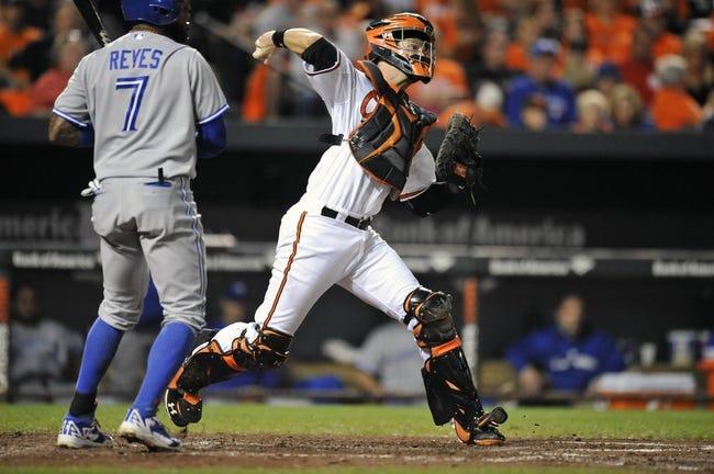 Toronto Blue Jays vs. Baltimore Orioles 9/26/14 MLB Pick, Odds, Prediction