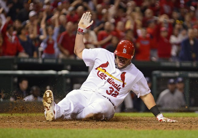 St. Louis Cardinals vs. Milwaukee Brewers - 4/13/15 MLB Pick, Odds, and Prediction