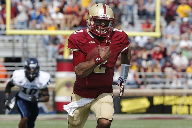 Boston College Eagles vs. Colorado State Rams Pick-Odds-Prediction 9/27/14