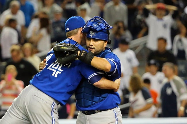 New York Yankees vs. Toronto Blue Jays Pick-Odds-Prediction - 9/21/14