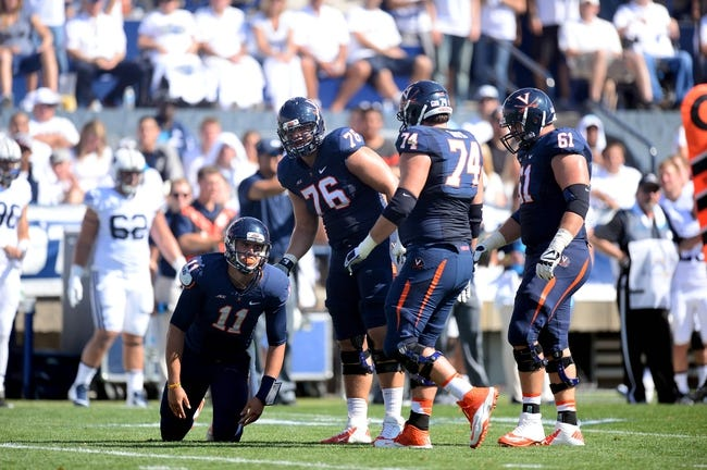 Virginia Cavaliers vs. Kent State Golden Flashes Pick-Odds-Prediction 9/27/14