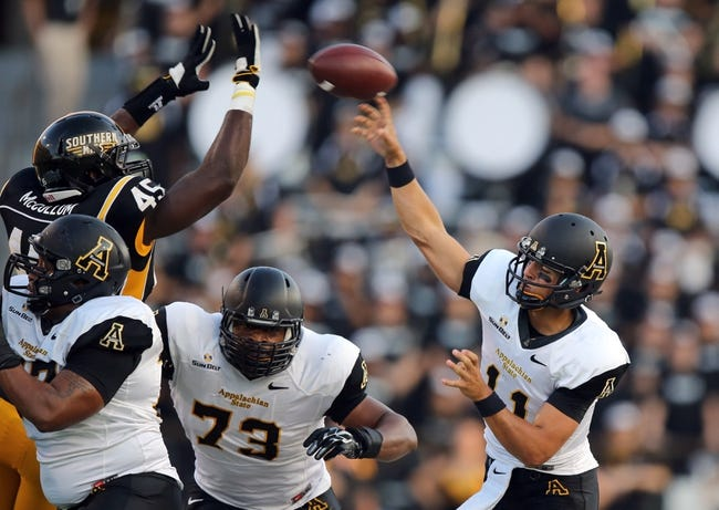 Appalachian State Mountaineers vs. Idaho Vandals - 11/29/14 College Football Pick, Odds, and Prediction