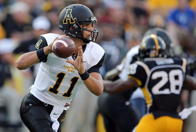 Appalachian State Mountaineers vs. Louisiana-Monroe Warhawks - 11/8/14 College Football Pick, Odds, and Prediction