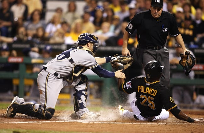 Pittsburgh Pirates vs. Milwaukee Brewers MLB Pick, Odds, Prediction - 9/21/14