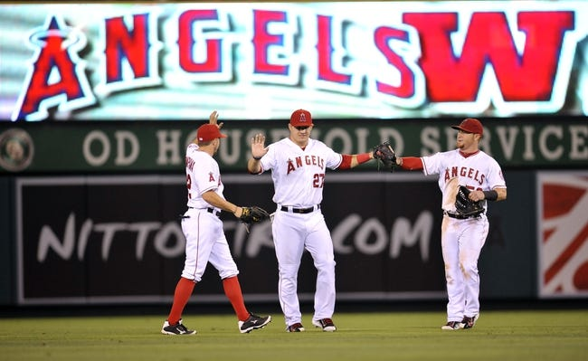 Los Angeles Angels vs. Texas Rangers Pick-Odds-Predictions - 9/21/14