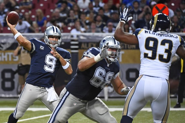 Dallas Cowboys at St. Louis Rams 9/21/14 NFL Score, Recap, News and Notes