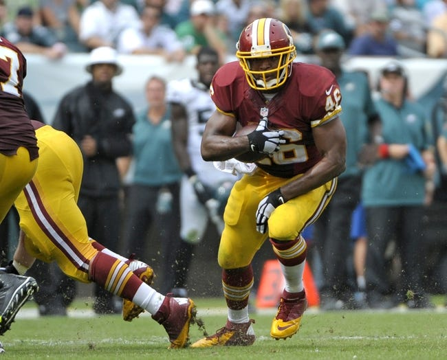 Fantasy Football 2014: Seahawks at Redskins 10/6/14 Week 5 Preview
