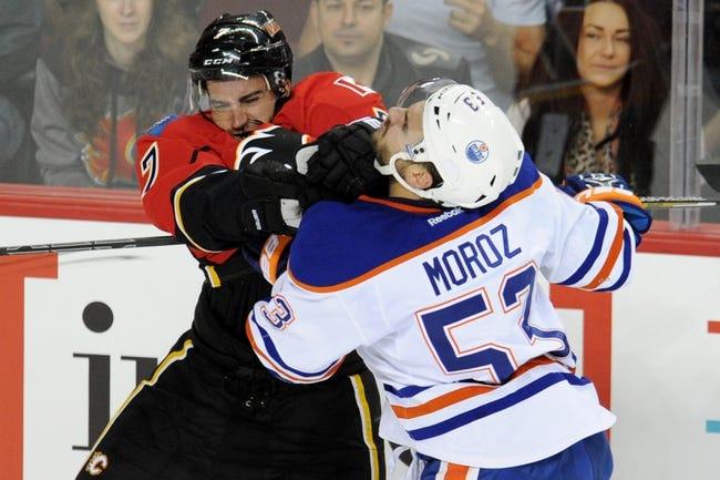 Edmonton Oilers vs. Calgary Flames - 10/9/14