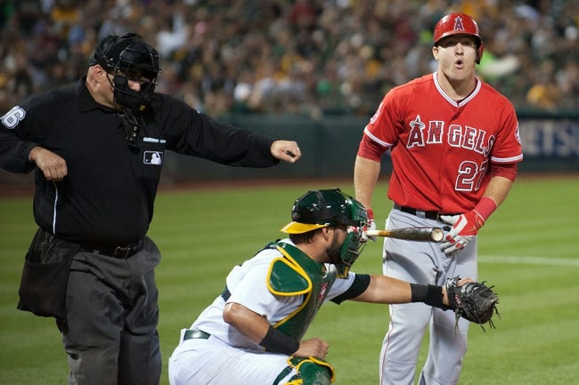 Oakland Athletics vs. Los Angeles Angels Pick-Odds-Prediction - 9/23/14