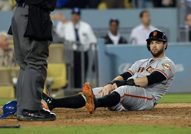 Los Angeles Dodgers vs. San Francisco Giants Pick-Odds-Prediction - 9/23/14