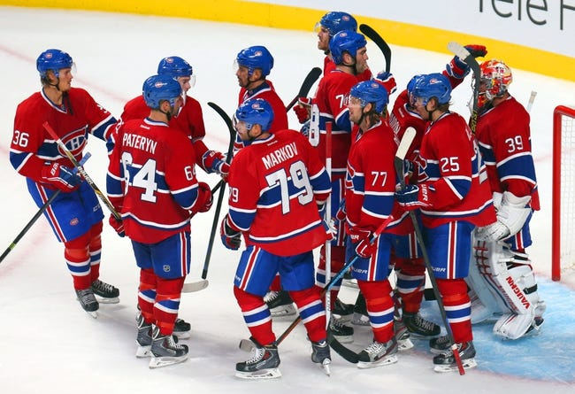 Montreal Canadiens vs. Boston Bruins - 10/16/14