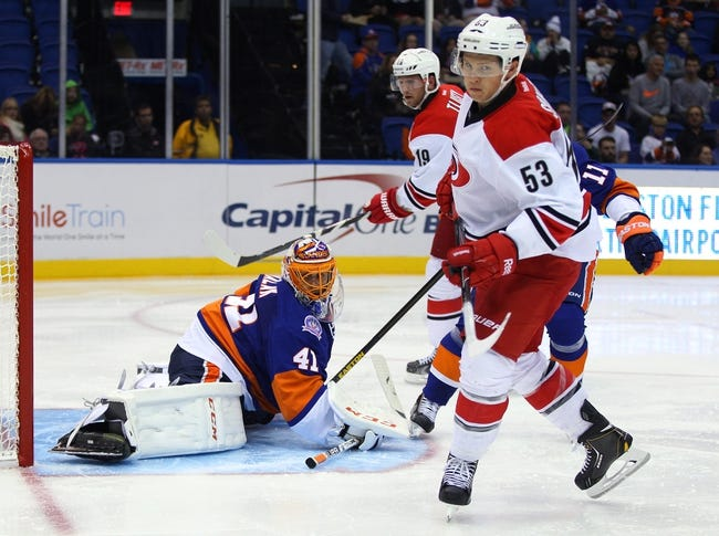 Carolina Hurricanes vs. New York Islanders Pick-Odds-Prediction - 10/10/14