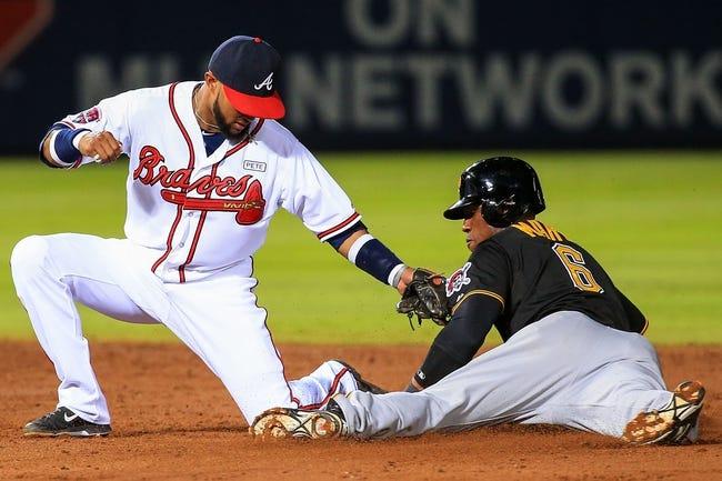 Atlanta Braves vs. Pittsburgh Pirates 9/25/14 MLB Pick, Odds, Prediction