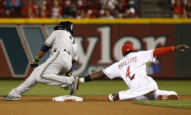 Cincinnati Reds vs. Milwaukee Brewers MLB Pick, Odds, Prediction - 9/25/14