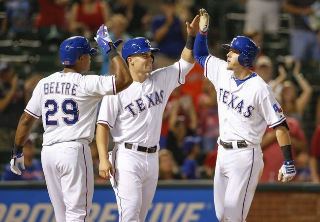 Rangers vs. Astros - 4/10/15 MLB Pick, Odds, and Prediction