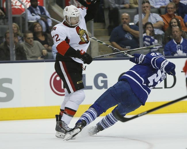Ottawa Senators vs. Toronto Maple Leafs - 11/9/14 NHL Pick, Odds, and Prediction