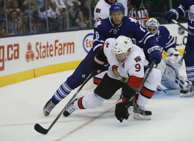Ottawa Senators vs. Toronto Maple Leafs - 10/22/14