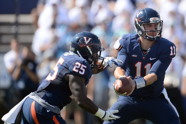 Virginia Cavaliers vs. Pittsburgh Panthers Pick-Odds-Prediction 10/4/14
