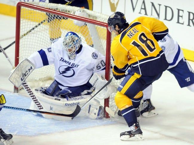 Nashville Predators vs. Tampa Bay Lightning - 2/10/15 NHL Pick, Odds, and Prediction