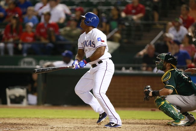 Texas Rangers vs. Oakland Athletics MLB Pick, Odds, Prediction - 9/26/14