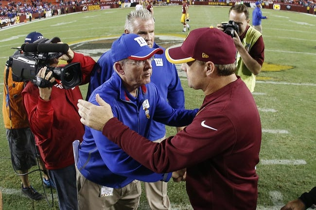 Giants vs. Redskins - 12/14/14 NFL Pick, Odds, and Prediction