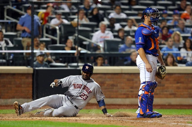 New York Mets vs. Houston Astros 9/27/14 MLB Pick, Odds, Prediction