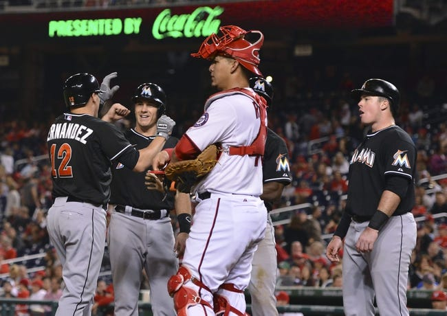 Washington Nationals vs. Miami Marlins 9/27/14 MLB Pick, Odds, Prediction