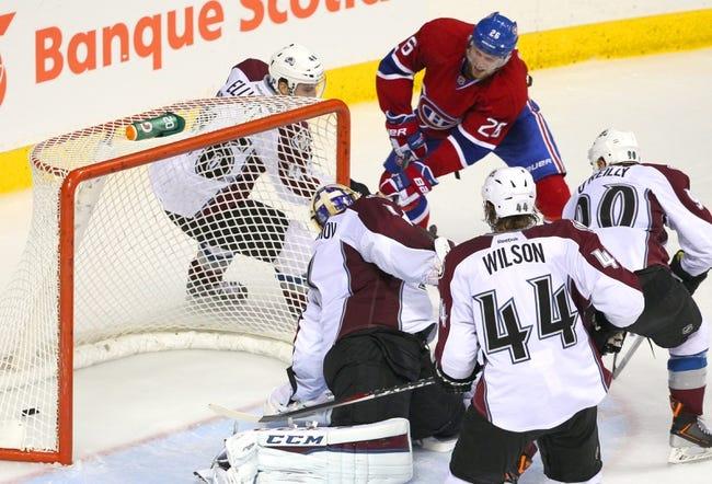 Montreal Canadiens vs. Colorado Avalanche - 10/18/14 NHL Pick, Odds, Prediction