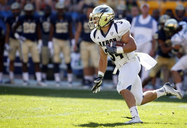 Akron Zips vs. Bowling Green Falcons - 11/4/14 College Football Pick, Odds, and Prediction