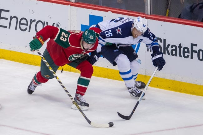 Minnesota Wild vs. Winnipeg Jets - 11/16/14 NHL Pick, Odds, and Prediction