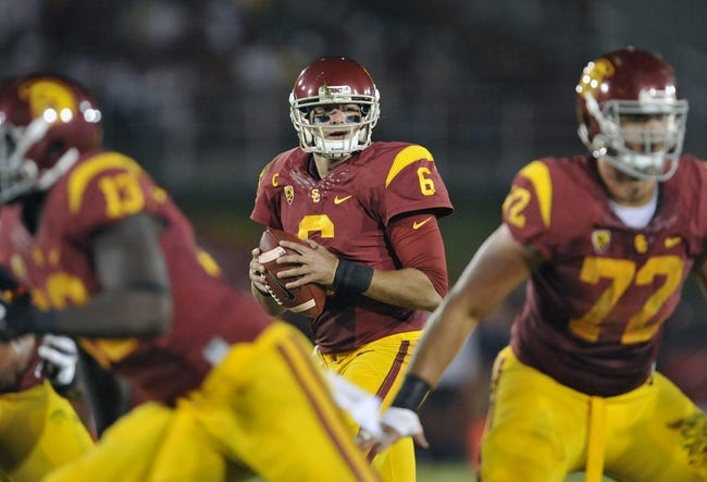 Arizona State Sun Devils at USC Trojans - 10/4/14 College Football Pick, Odds, Prediction