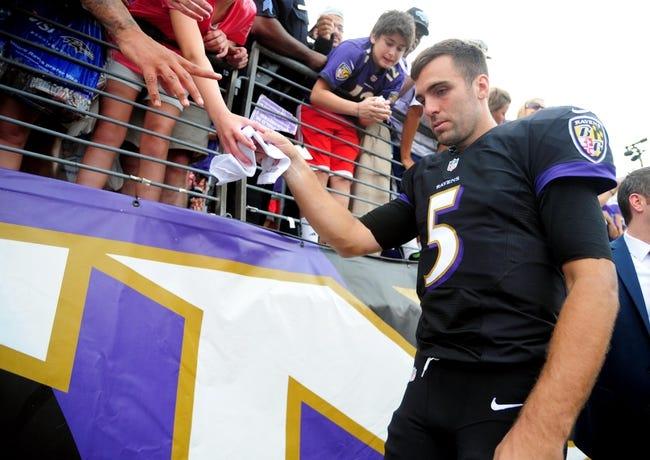 Carolina Panthers at Baltimore Ravens- 8/11/16 NFL Pick, Odds, and Prediction