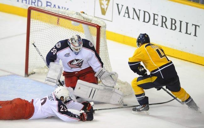 Nashville Predators vs. Columbus Blue Jackets - 11/29/14 NHL Pick, Odds, and Prediction