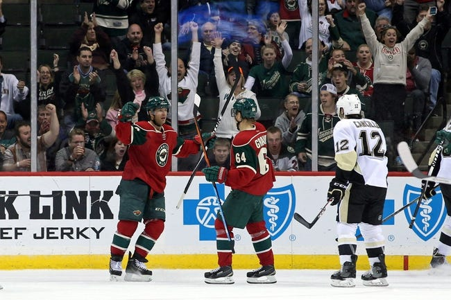 Minnesota Wild vs. Pittsburgh Penguins - 11/4/14 NHL Pick, Odds, and Prediction