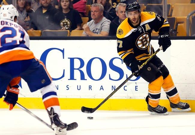Boston Bruins vs. New York Islanders - 10/23/14