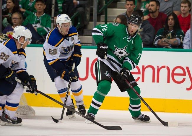 Dallas Stars vs. St. Louis Blues - 10/28/14 NHL Pick, Odds, and Prediction