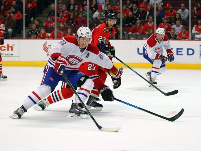 Montreal Canadiens vs. Chicago Blackhawks - 11/4/14 NHL Pick, Odds, and Prediction