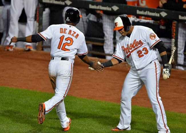 Baltimore Orioles vs. Detroit Tigers - 10/3/14 ALDS Game Two