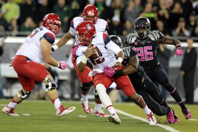 Arizona vs. USC 10/11/14 College Football Pick, Odds, and Prediction