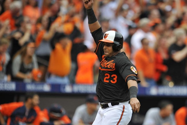 2014 ALCS Game 1 Orioles vs. Royals 10/10/14
