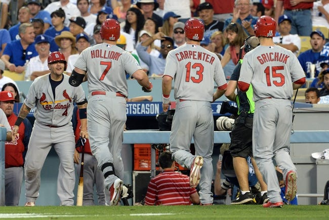 MLB | St. Louis Cardinals (90-72) at Los Angeles Dodgers (94-68)