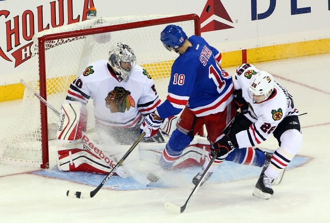 Chicago Blackhawks vs. New York Rangers - 3/8/15 NHL Pick, Odds, and Prediction