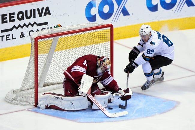 San Jose Sharks vs. Arizona Coyotes - 11/22/14 NHL Pick, Odds, and Prediction