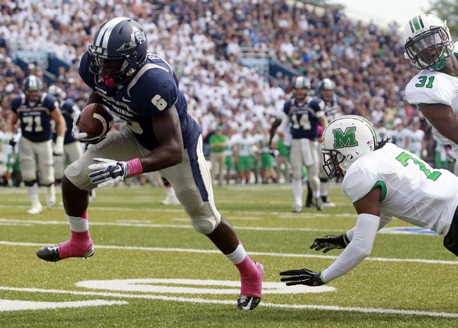 Old Dominion Monarchs vs. Massachusetts Minutemen - 10/8/16 College Football Pick, Odds, and Prediction
