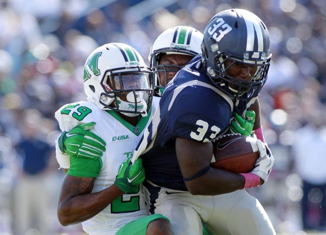 Marshall Thundering Herd vs. Old Dominion Monarchs - 10/3/15 College Football Pick, Odds, and Prediction
