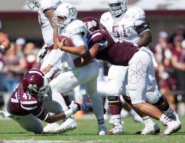 Texas A&M vs. Mississippi State - 10/3/15 College Football Pick, Odds, and Prediction