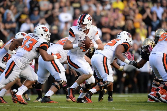 Oregon State vs. Utah 10/16/14 Free College Football Pick, Odds, and Prediction